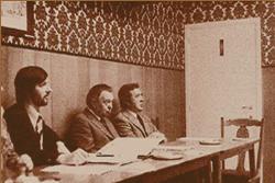 Congrès National de la CBS à Turnhout en couleurs sépia