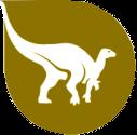 logo représentant un dinosaure