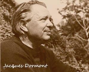 Photo de Jacques Dormont, notre 1er président, de profil, en teintes sépia
