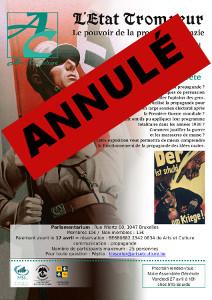 Affiche propagande nazie
