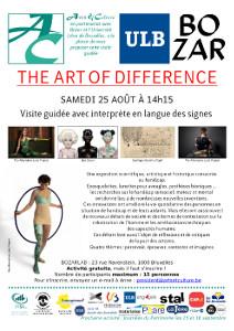 The Art of difference : 2eme visite