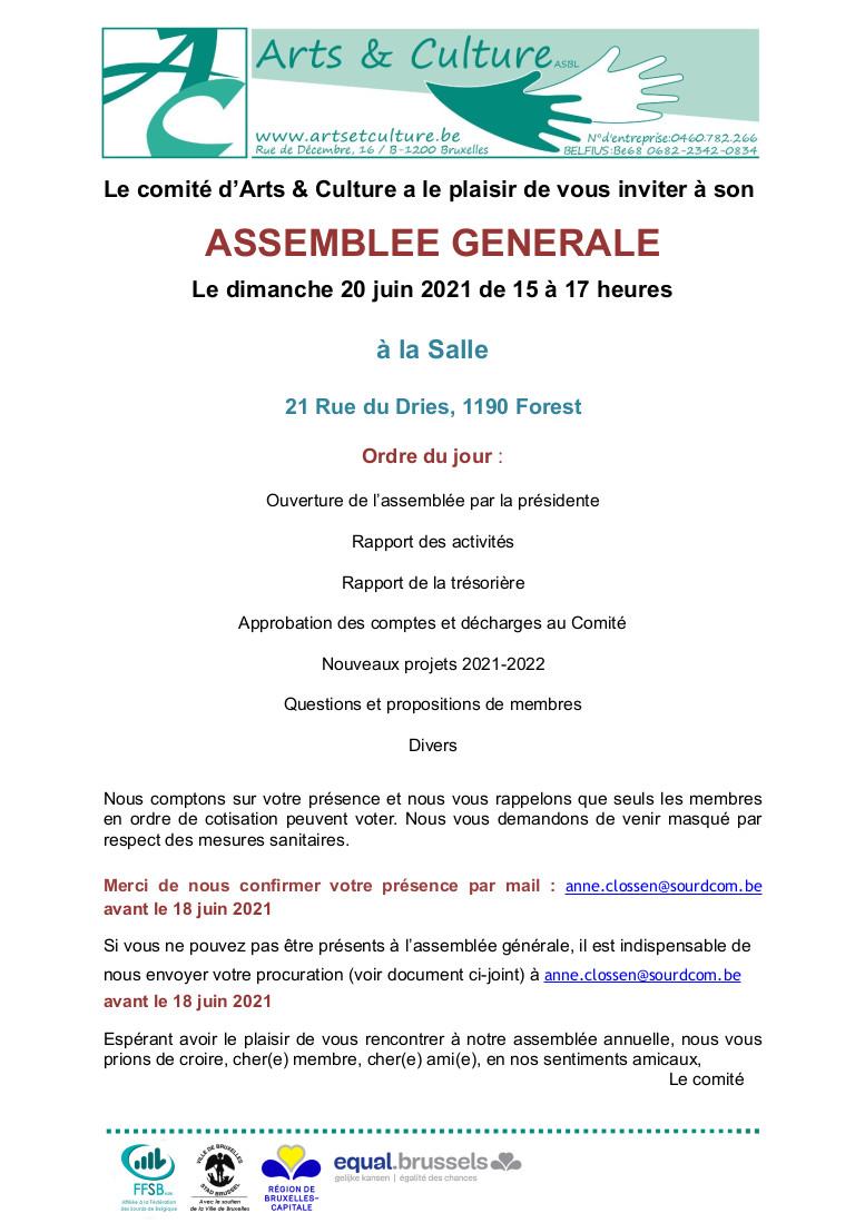 programme de l'AG (téléchargez le pdf pour le lire)