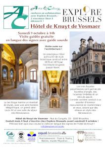 Un Hôtel éclectique, celui de Knuyt de Vosmaer
